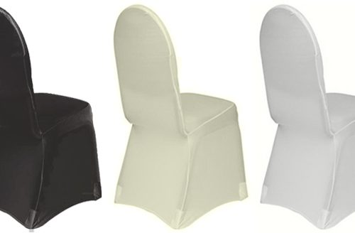 Lycra Chair Covers all 3 colours
