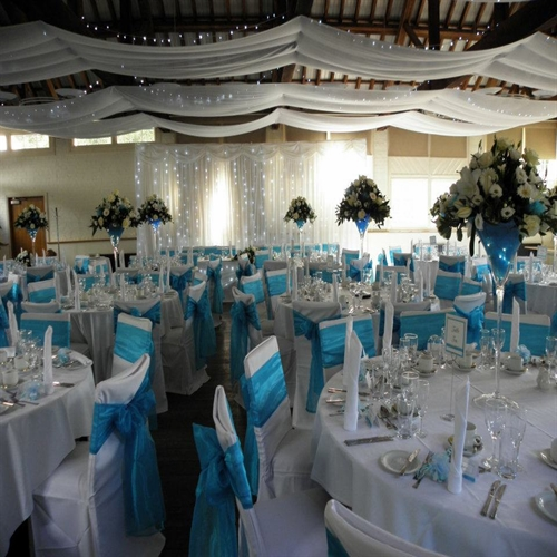 Ceiling Drape HireSovereign Weddings & Party Favours